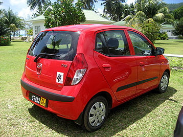 Seychelles Car Rental