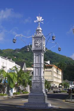 Victoria Seychelles the Big Ben!