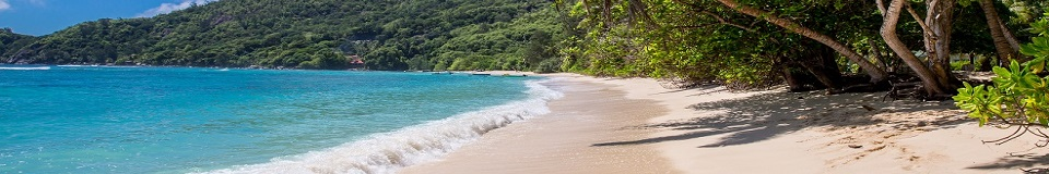 Chalets d'Anse Forbans in the Seychelles Islands  14 Self Catering on the Beach - 14 Locations de vacances sur la plage - 14 Ferienwohnungen am Strand